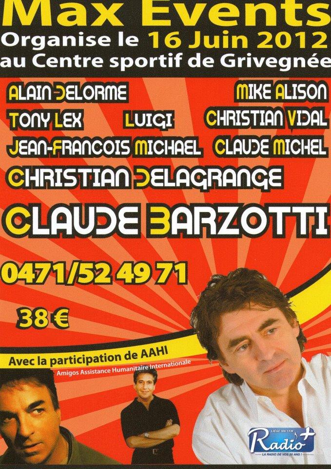 Blog de barzotti83 : Rikounet 83, Concert Claude Barzotti Casino de Hyères les palmiers samedi 26 mai 2012
