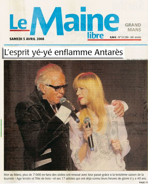 Hommage à Eric Charden article Mars 2008