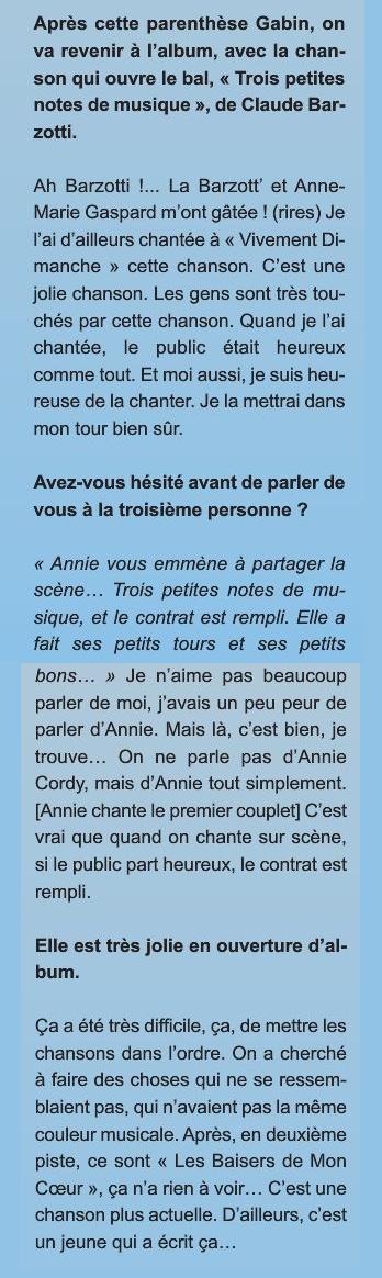 Blog de barzotti83 : Rikounet 83, Ca me plait nouveau CD d Annie CORDY avec une chanson de Claude barzotti