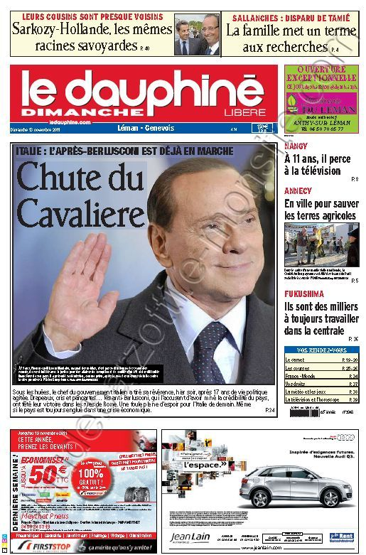 Blog de barzotti83 : Rikounet 83, Article de presse LE DAUPHINE 13 novembre 2011
