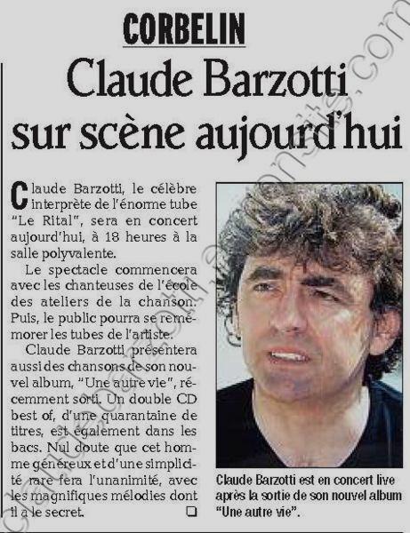 articlede presse du 27 novembre 2011