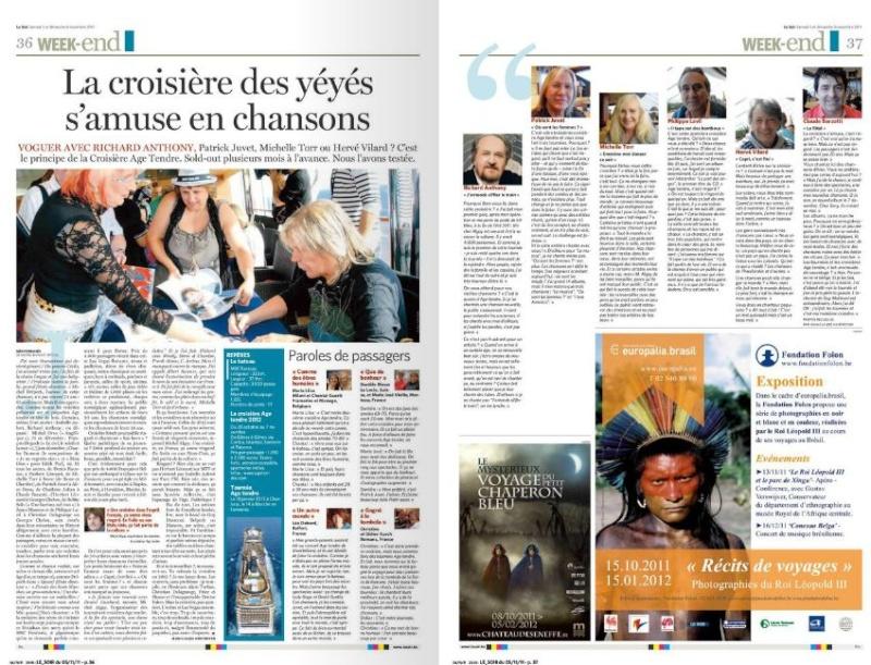 """lien vers l'article de presse """"le soir.be"""" du 5 novembre 2011"""