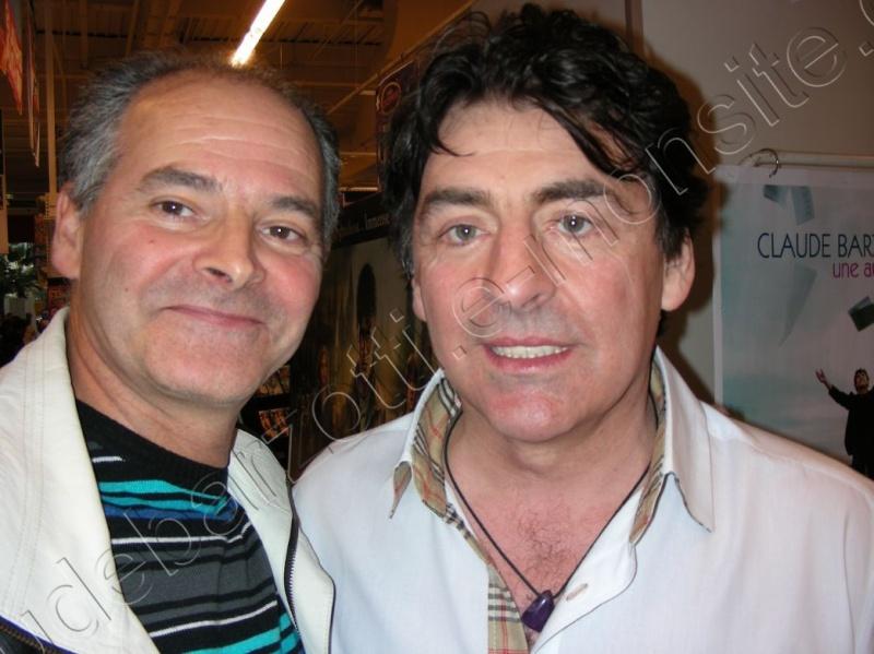 Claude et Eric aux dédicaces de Auchan le Pontet le 19 novembre 2011