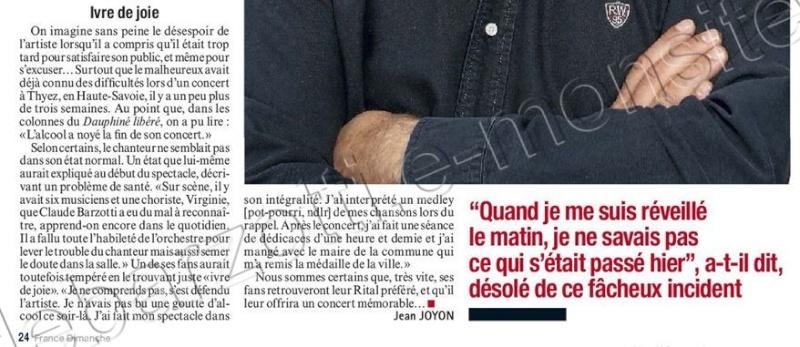 Blog de barzotti83 : Rikounet 83, France Dimanche No 3407 du 16 au 22 Dec 2011 page 24 Claude Barzotti