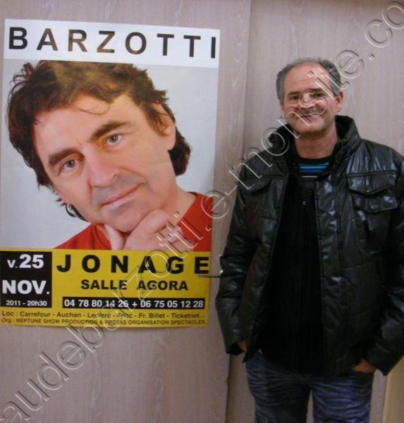 Blog de barzotti83 : Rikounet 83, Claude BARZOTTI en concert à JONAGE le 25 novembre 2011