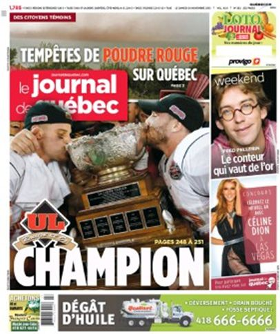 Le journal de Quebec