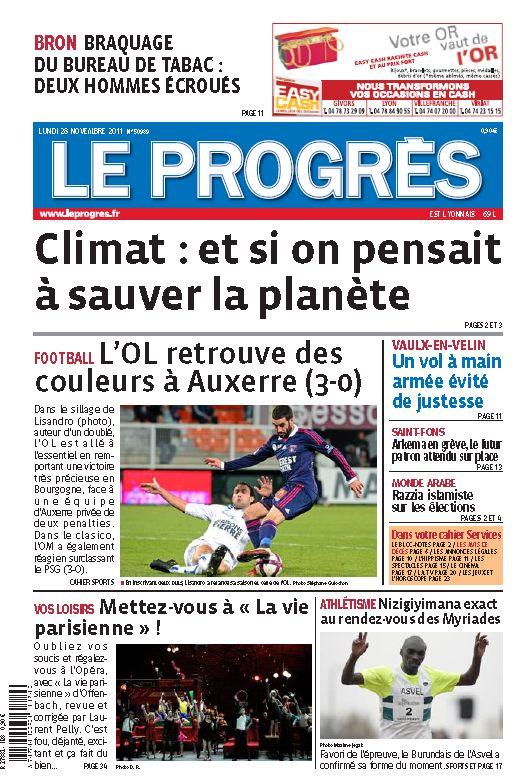 Le progrès EST Lyonnais