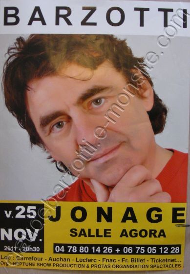 affiche du concert de Jonage (photo Eric Bomale