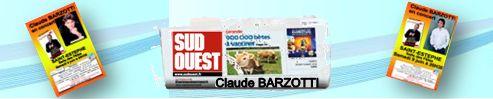 Claude Barzotti Presse SUD OUEST