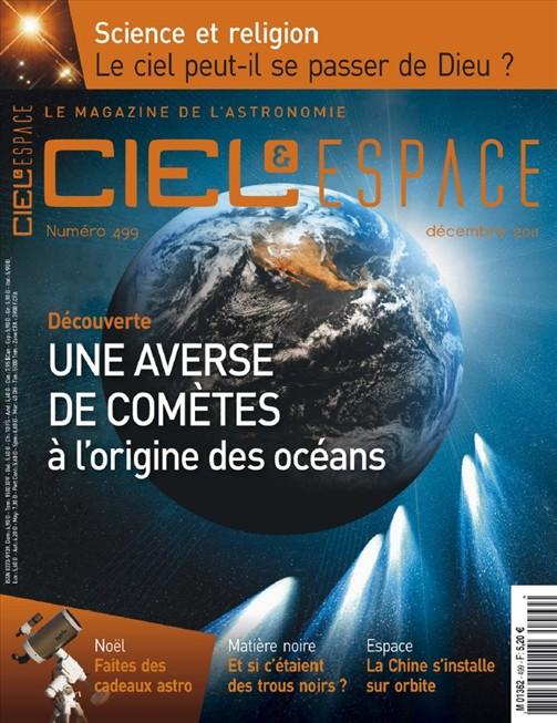 Ciel et Espace N°499 Décembre 2011