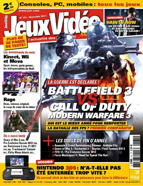 Jeux Vidéo Magazine 131 Novembre 2011