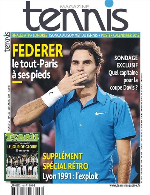 Tennis Magazine 426 Décembre 2011