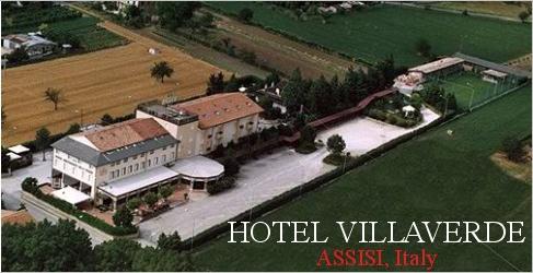 Come Arrivare Hotel Villa Verde Assisi