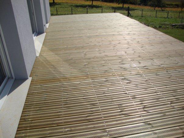 Terrasse bois - Refaire une terrasse carrelee ...