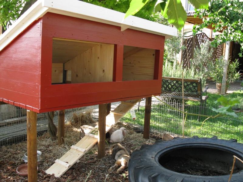 A donner cabane pour lapins for Cabane pour lapin exterieur