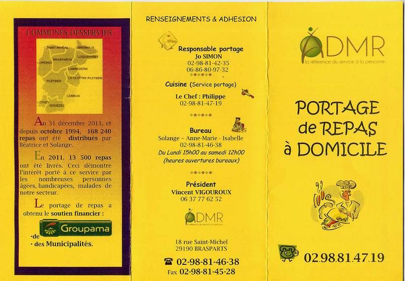 Admr Portage De Repas Domicile