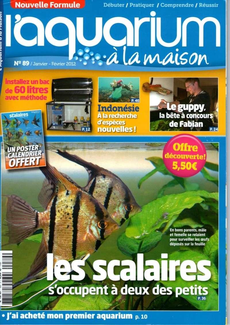 L 39 aquarium la maison n 89 janvier f vrier 2012 for Aquarium a la maison pdf