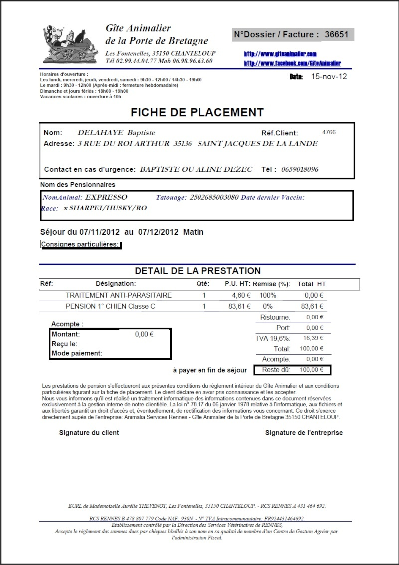 exemple facture association loi 1901