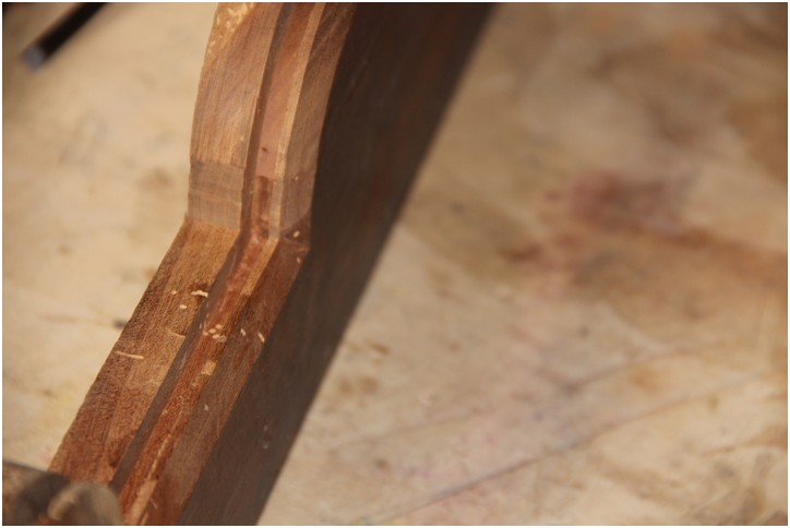 Encadrement de porte suite de insertion d 39 un monogramme for Encadrement de porte bois