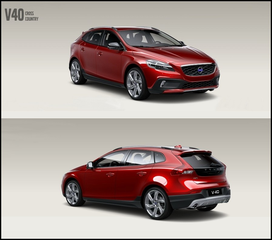 volvo v40 t3 rouge flamenco pr sentation page 3 volvo forum marques. Black Bedroom Furniture Sets. Home Design Ideas