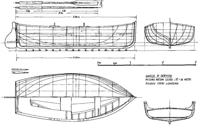 Schifazzo trapanese 1 66 brggpl terminato for Piani di costruzione di un piano