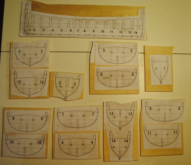 Schifazzo trapanese 1 66 brggpl terminato for Costruzione di disegni online