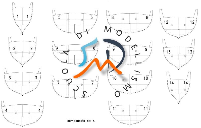 Schifazzo trapanese 1 66 brggpl terminato for Piani di cupola pdf