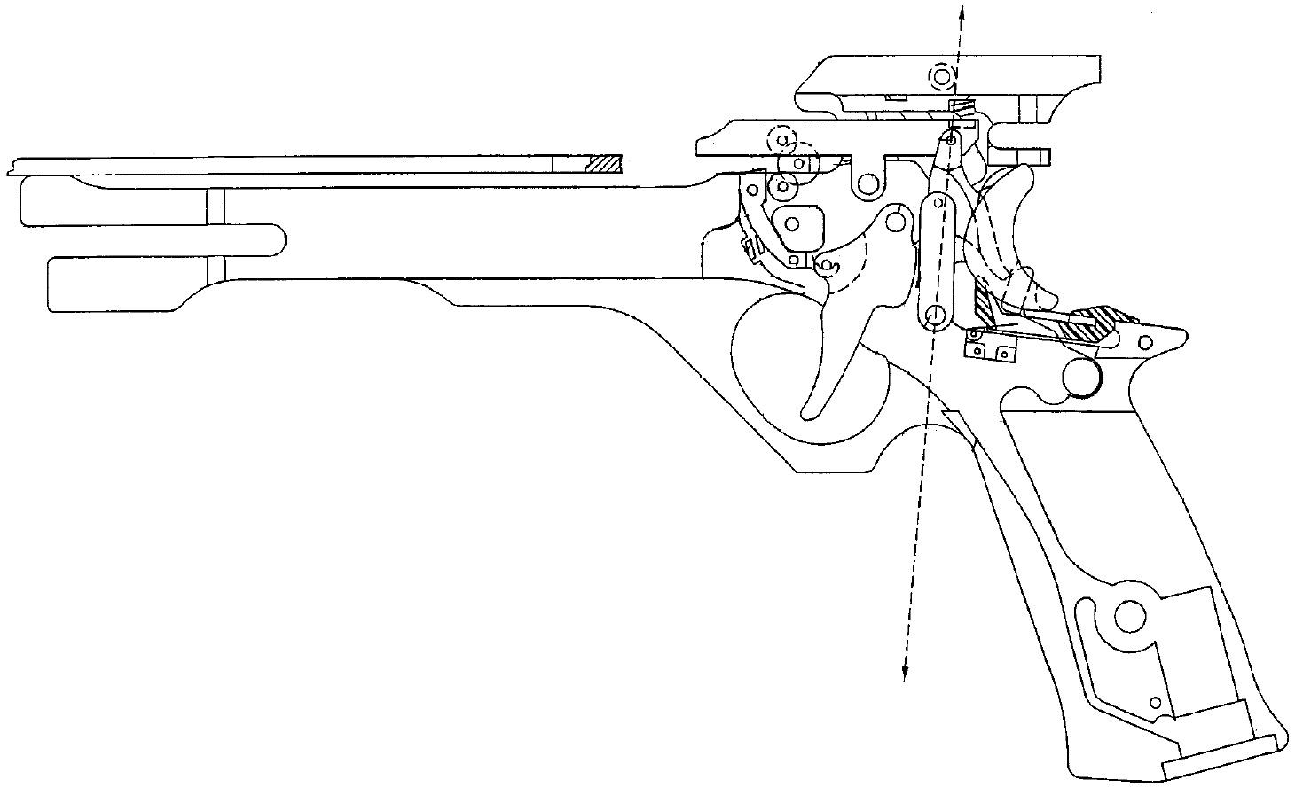 pistol trigger diagram