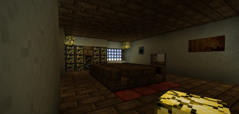 Map le manoir des croft tomb raider minecraft france for Salle a manger minecraft