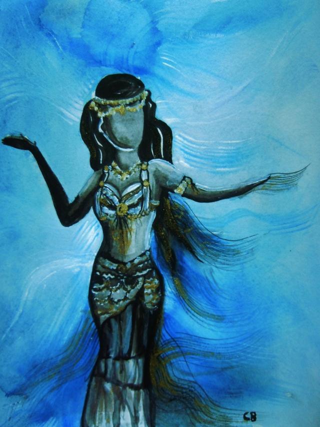 Danseuse orientale - Danseuse orientale dessin ...