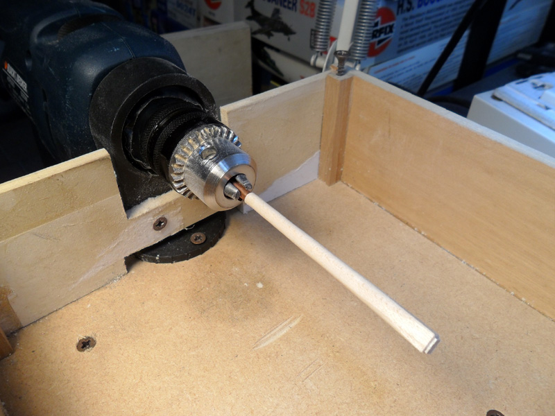 Aiuto autocostruzione piccolo tornio for Costruire tornio legno