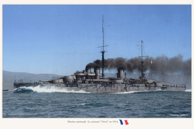 Battleship Paris 1914