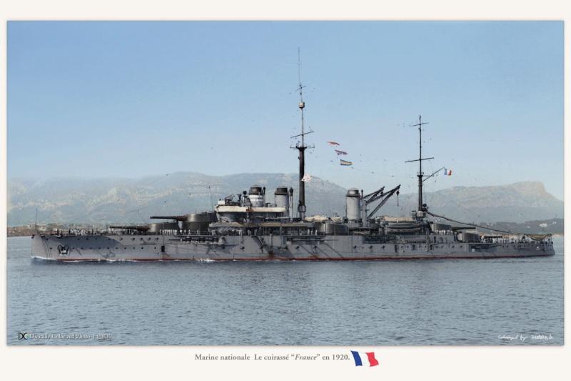 Battleship France 1914