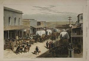 Les villes, les citoyens, la vie en général au 19e siècle...