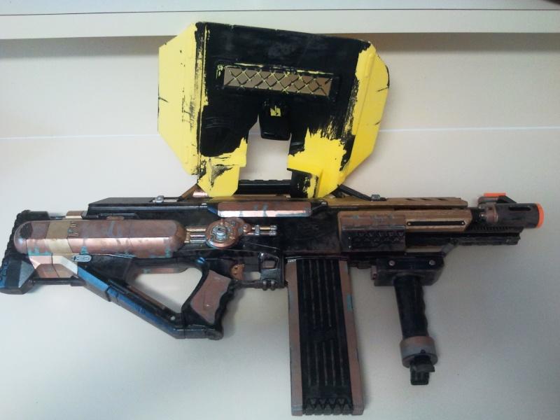 Nerf Stampede Steampunk Paint Stock Internals Make An