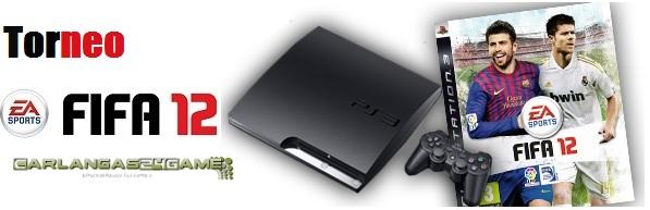 """Torneo de FIFA12 online  """"el ganador del torneo se llevará un juego de Playstation 3"""""""
