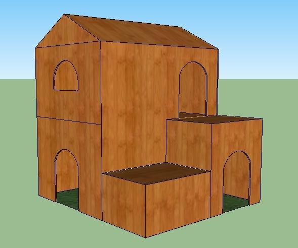 plan de cabane en bois pour lapin. Black Bedroom Furniture Sets. Home Design Ideas
