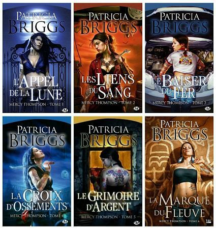 Patricia Briggs - Mercy Thompson (1-7)