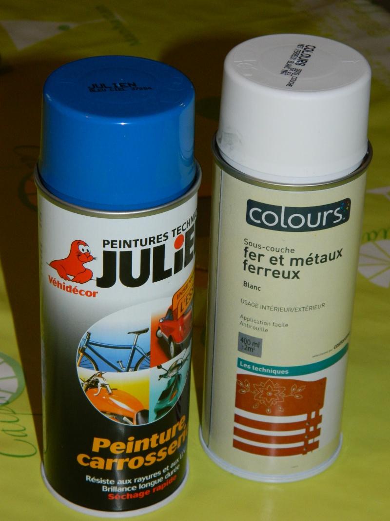 Peinture epoxy ressort amortisseur