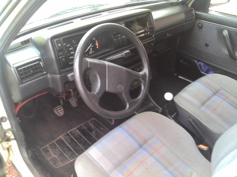 Golf 2 gtd de 1988 for Interieur golf 2