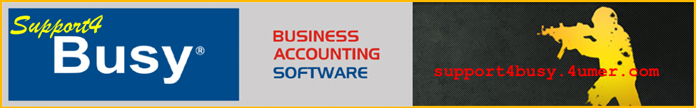 Busy Accounting Software Support