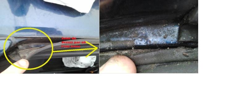 ma 405 prend l u0026 39 eau    cause  carrosserie et rouille perforante dans le coffre