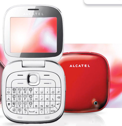 alcatel one touch glam 810 un mobile original et design prix d 39 ami. Black Bedroom Furniture Sets. Home Design Ideas