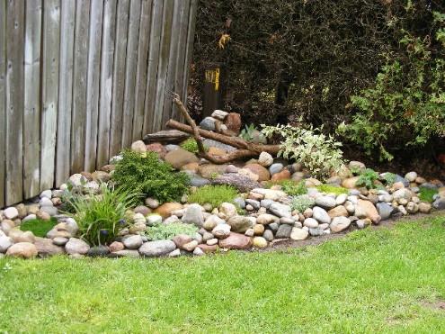 How do i build a rock garden from scratch for Creating a rock garden